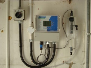 Chlorine Analyzer in Distribution Monitoring Application.